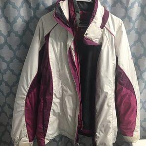 Women's Columbia Winter Jacket 3 in 1